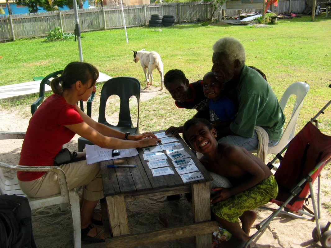 2.6 Conducting Preference Interviews in Torres Strait, Australia.